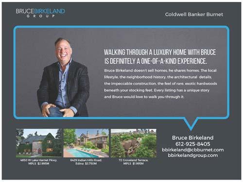 Bruce Birkeland Magazine Ad