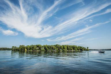 Lake Minnetonka island